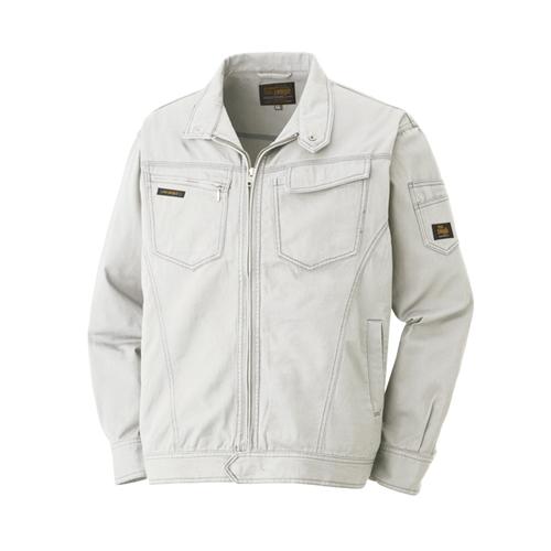 綿長袖ブルゾン 013−4 グレー M