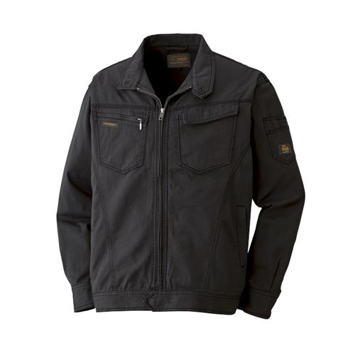 綿長袖ブルゾン 013−4 ブラック LL