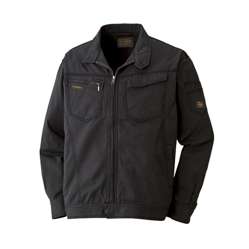 綿長袖ブルゾン 013−4 ブラック 3L