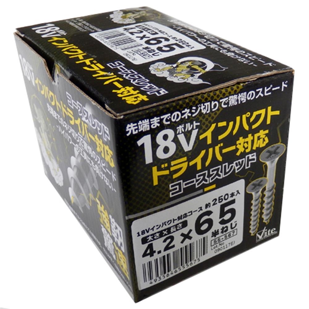 三価18V対応コース箱 4.2X65 55−567