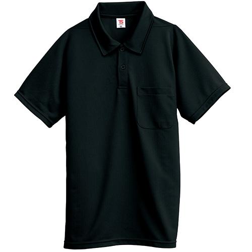 半袖ポロシャツ 2065 ブラック L