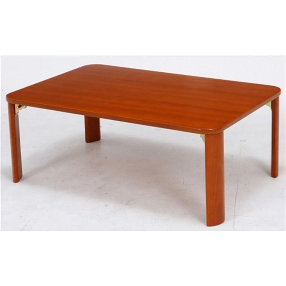 折脚ローテーブル(ブラウン) KSM−9060BR