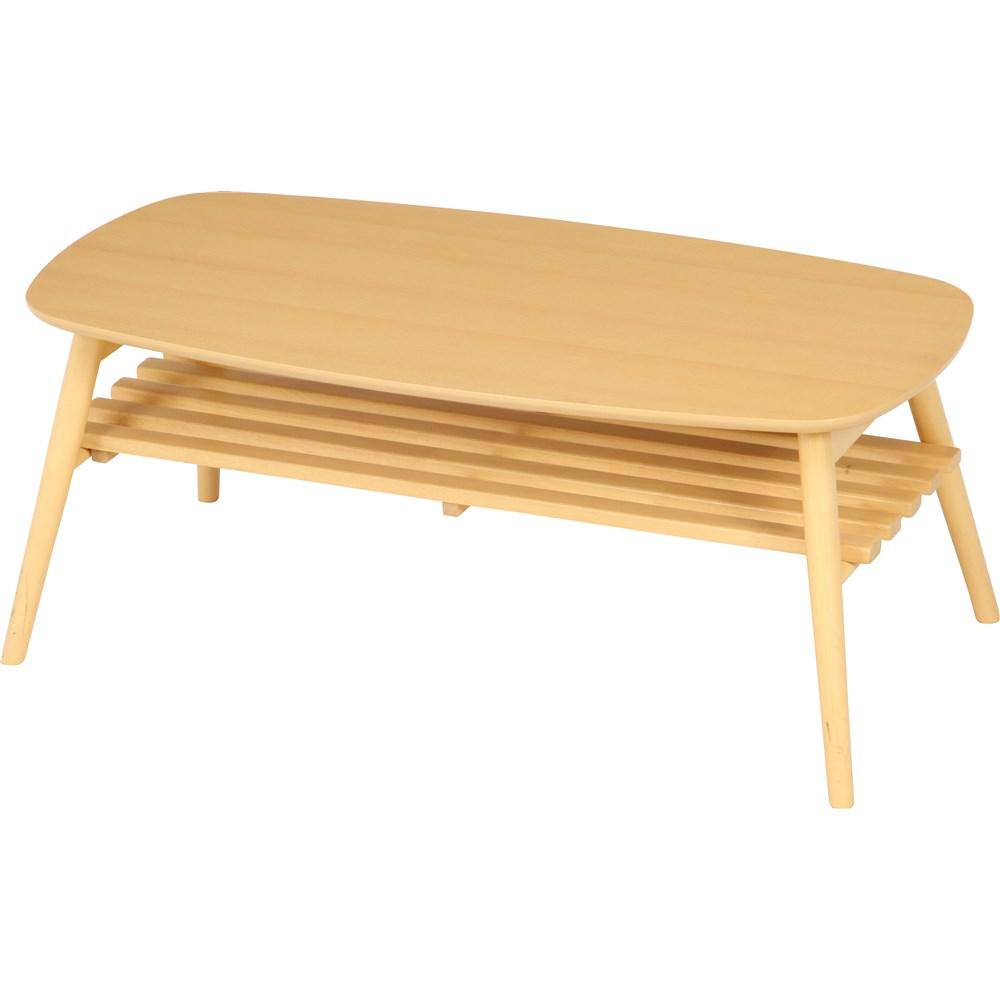 折れ脚センターテーブル ノルン 6310−19SKV ナチュラル