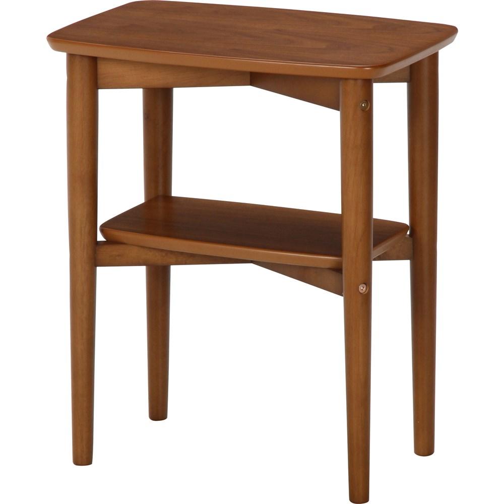 サイドテーブル ノルン スクエア 6806−5SF−4530 ダークブラウン