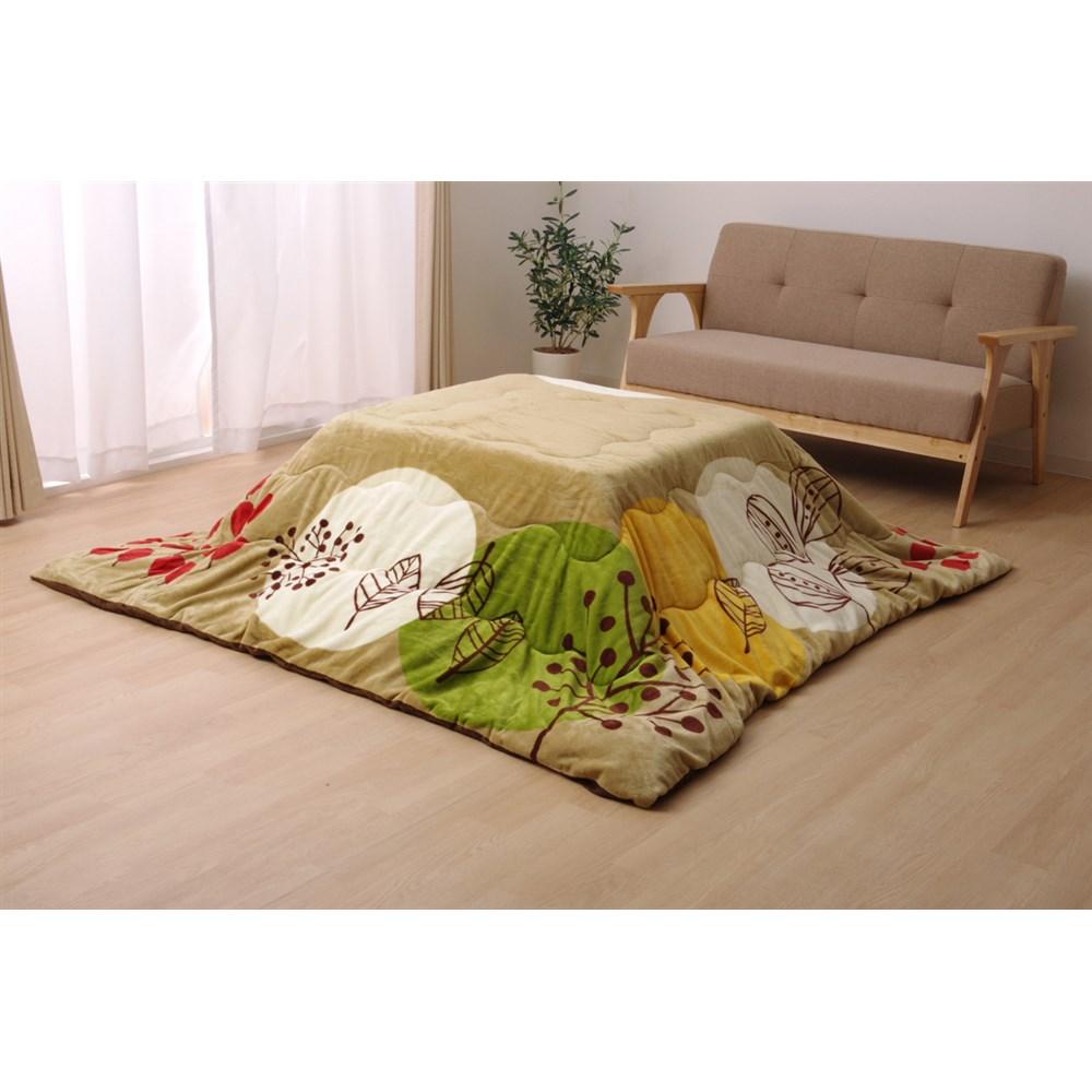イケヒコ・コーポレーション(IKEHIKO)  こたつ布団 正方形 リプティ ベージュ 約190×240cm