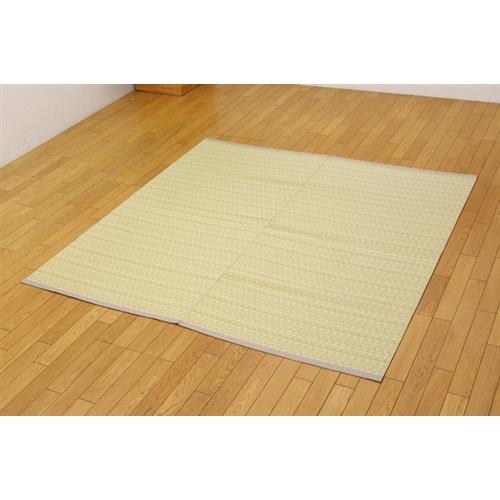 【受注生産品】イケヒコ・コーポレーション(IKEHIKO)  洗える PPカーペット 『バルカン』 ベージュ 江戸間2畳(174×174cm)