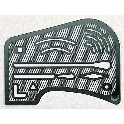 メッシュ字消板 ステンレス製
