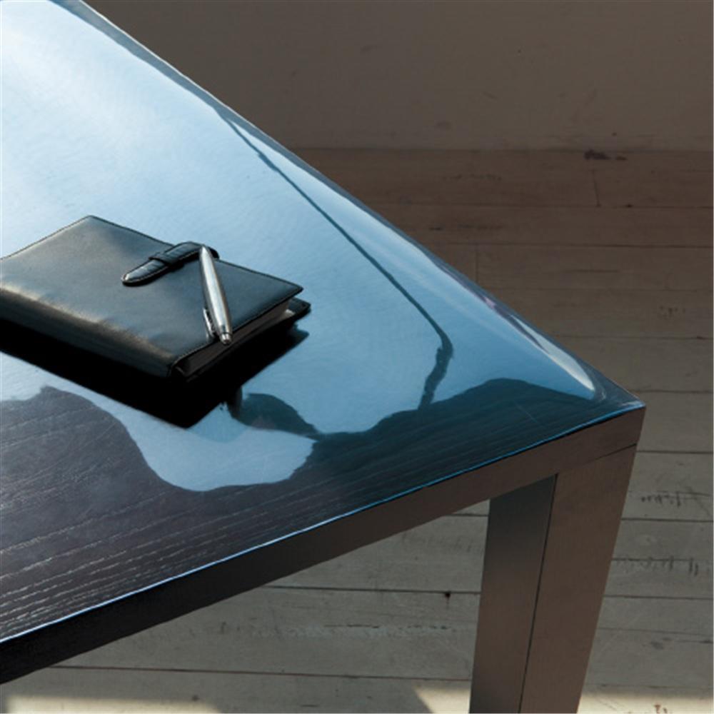ハイブリッド透明テーブルクロス 1.0mm×90cm×120cm