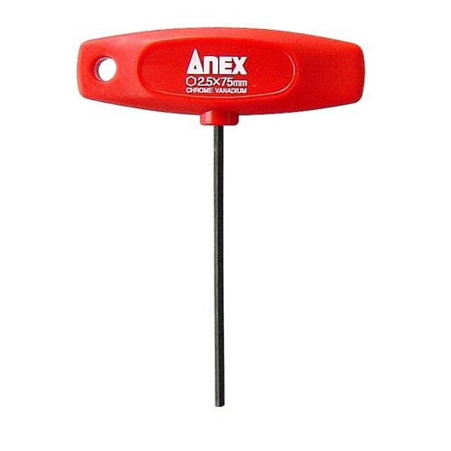 ANEX T型レンチドライバー 対辺2.5×75