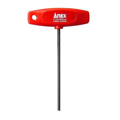 ANEX T型レンチドライバー 対辺3×100