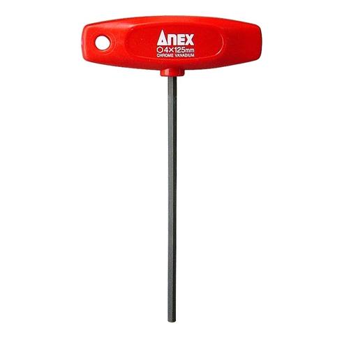 ANEX T型レンチドライバー 対辺4×125