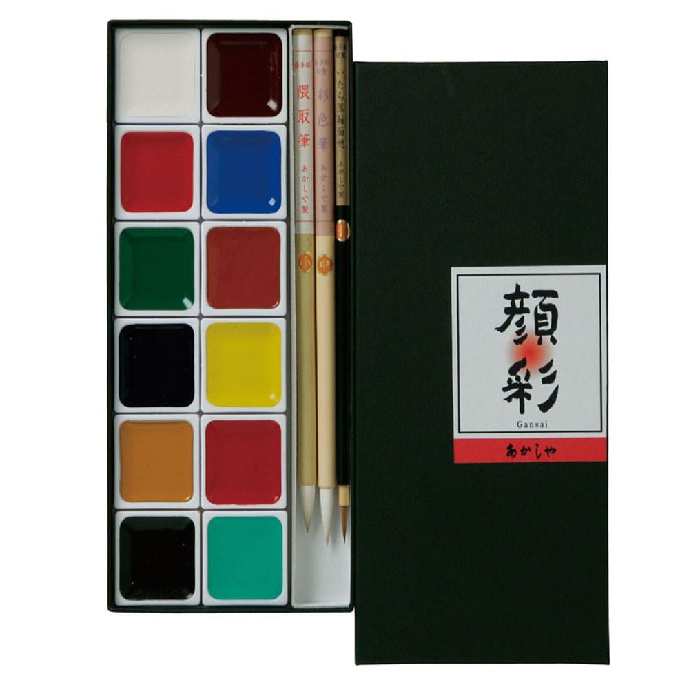絵手紙セット12色A P300−12V