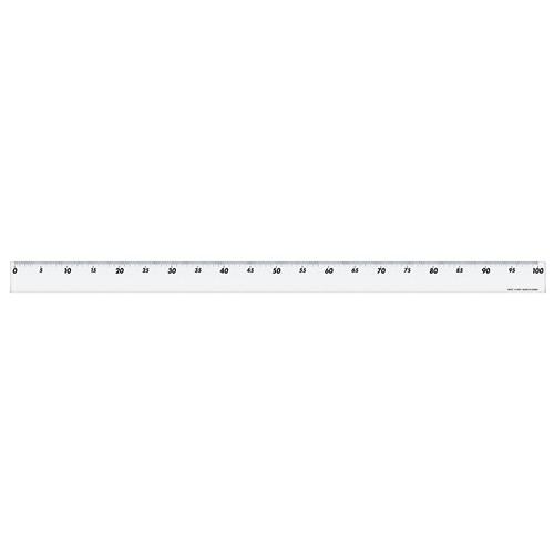 アクリル直線定規1mA−5011
