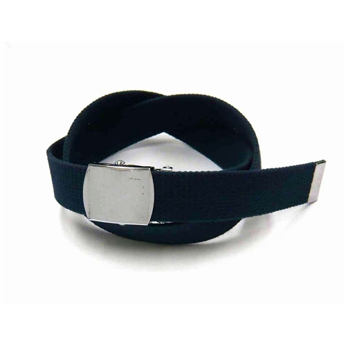 綿 ベルト #001 32mm 紺
