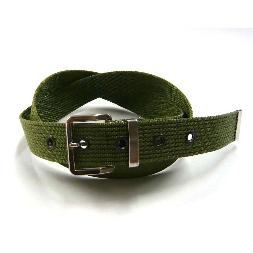 ナイロン ベルト #032 32mm グリーン