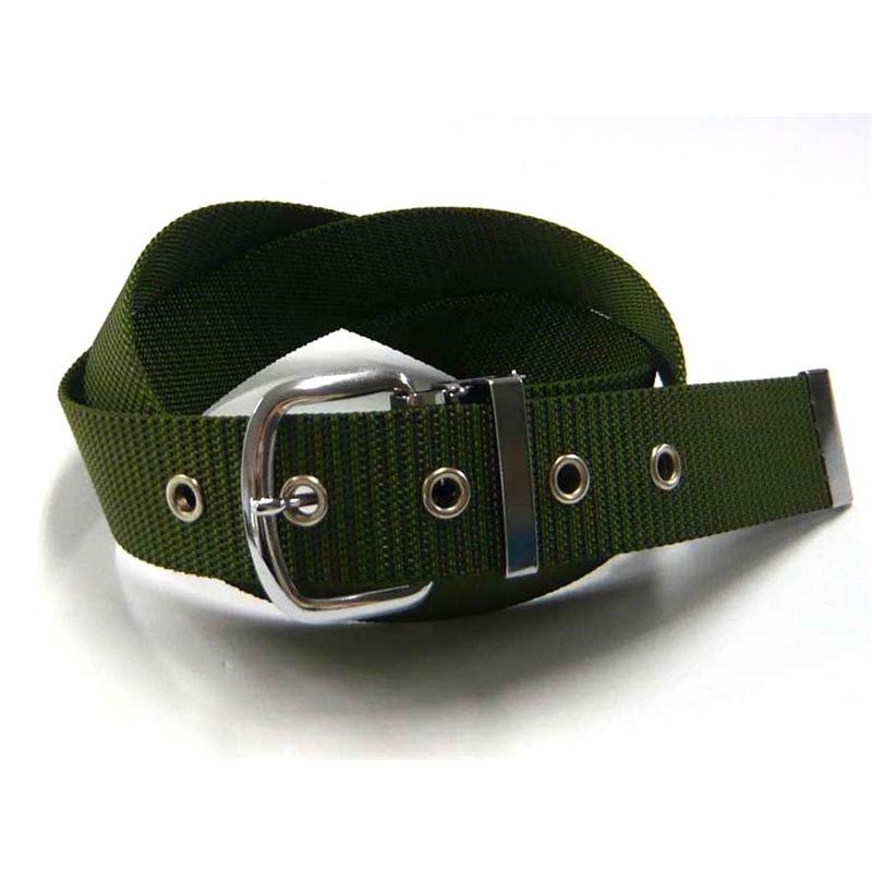 ナイロン ベルト #038 40mm グリーン