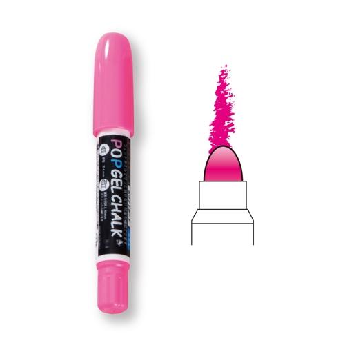 POPゲルチョーク 蛍光ピンク BPG−PP