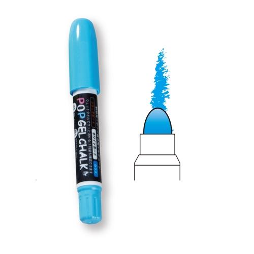 POPゲルチョーク 蛍光ブルー BPG−BP