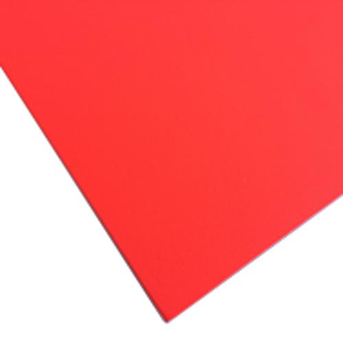 デコパネ 蛍光レッド A1 5×600×900mm ×5枚セット