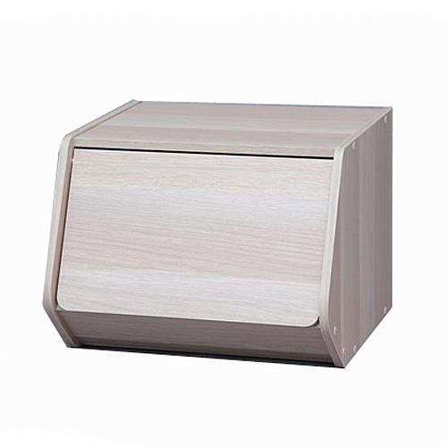 スタックボックス 扉付き  STB−400D ナチュラル
