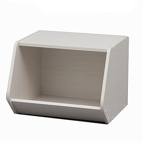 スタックボックス オープンタイプ  STB−400 オフホワイト