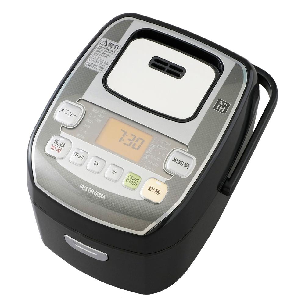 アイリスオーヤマ(IRIS OHYAMA) 米屋の旨み 銘柄炊き 圧力IHジャー炊飯器 3合 RC-PA30-B