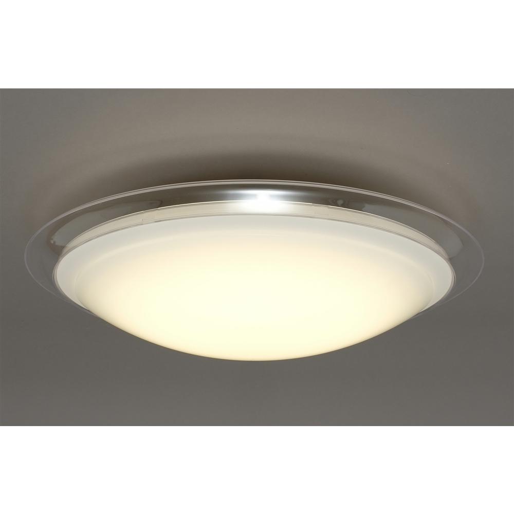 アイリスオーヤマ(IRIS OHYAMA) LEDシーリングライト メタルサーキットシリーズ デザインフレームタイプ 8畳調色 CL8DL-FRM