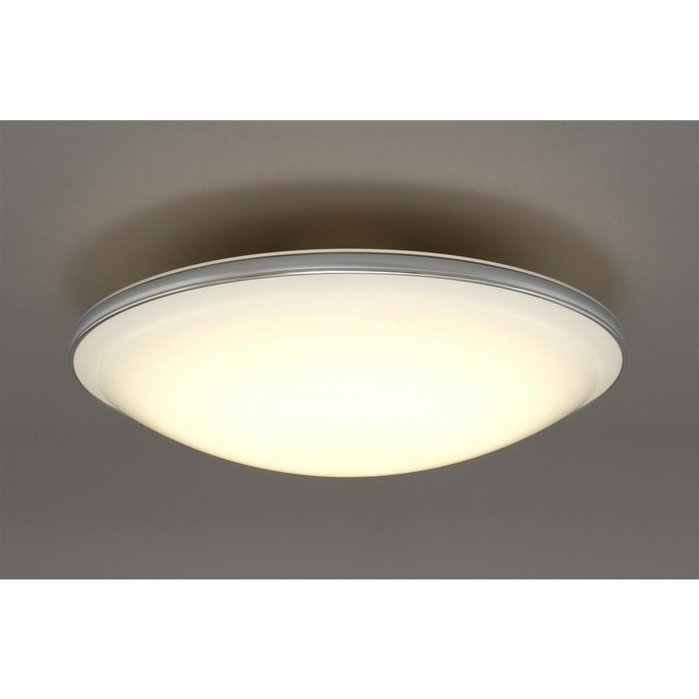 アイリスオーヤマ(IRIS OHYAMA) LEDシーリングライト メタルサーキットシリーズ デザインリングタイプ 12畳調色 CL12DL-PM