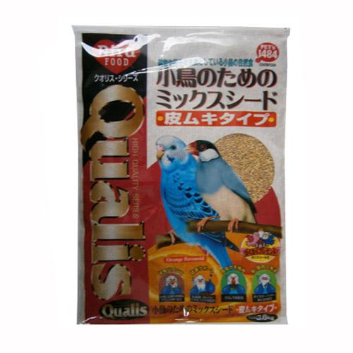 小鳥のための ミックスシード 皮ムキタイプ 3.6kg