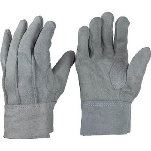 おたふく 牛床革背縫い内綿手袋 M 480-M