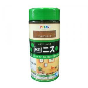 アサヒペン(Asahipen) 水性ニス ゴールデンオーク 300ml