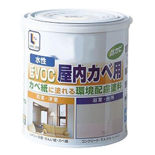 コーナン オリジナル 水性屋内カベ・浴室用 白 1.6L