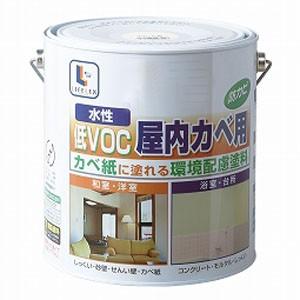 コーナン オリジナル 水性屋内カベ・浴室用 ペールピンク 3L