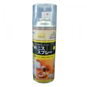 アサヒペン(Asahipen) 油性ニススプレー ツヤ消しクリア 420ml