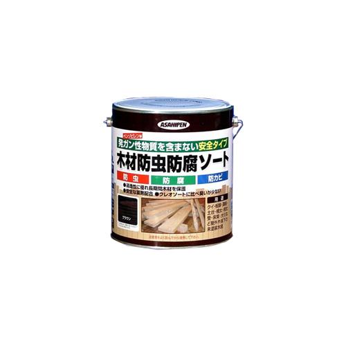 アサヒペン(Asahipen) 木材防虫防腐ソート ブラウン 2.5L