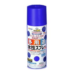 アサヒペン(Asahipen) 水性多用途スプレー スカイブルー 420ml