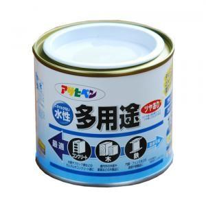 アサヒペン(Asahipen) 水性多用途 ツヤあり 黄 1/5L