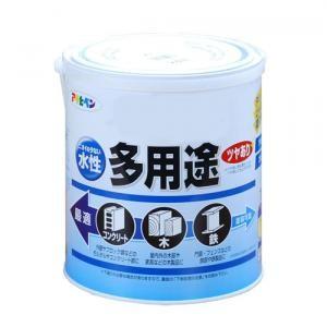 アサヒペン(Asahipen) 水性多用途 ツヤあり 白 1.6L