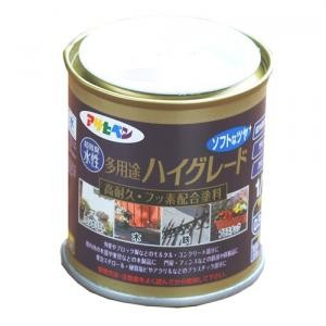 アサヒペン(Asahipen) 水性多用途 ハイグレード 白 1/12L