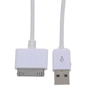 USBケーブル Dock+USB端子(Aタイプ4ピン) 1m IP−C10DKU−W