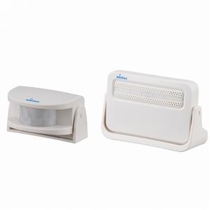 ワイヤレスチャイム 「monban」 赤外線人感センサー送信機+電池式受信機 OCH−M220