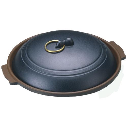 味の匠 味の匠アルミフッ素陶板19cm 黒
