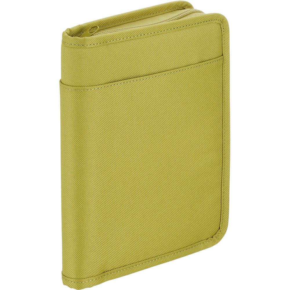 通帳&カード収納ケース 黄緑 2360キミドリ