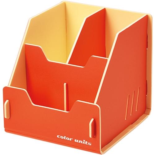 カラーユニッツペンスタンド 橙 7501オレ