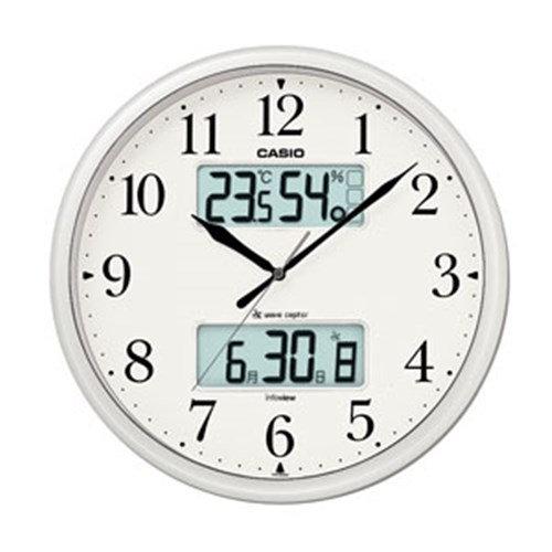 カシオ 電波掛時計 ITM−660NJ−8JF