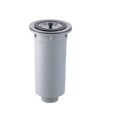 SANEI カゴ付流し排水栓H65