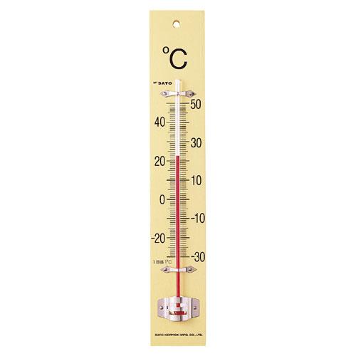 SATO板付温度計 NO.1510−00