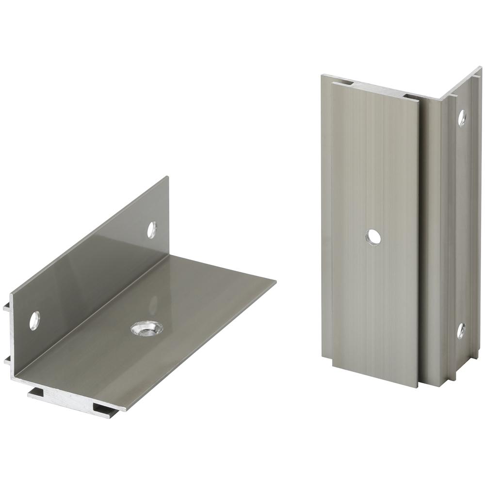 ホームEX 柱取付用 アルミ固定金具(2個入) HEX−K01