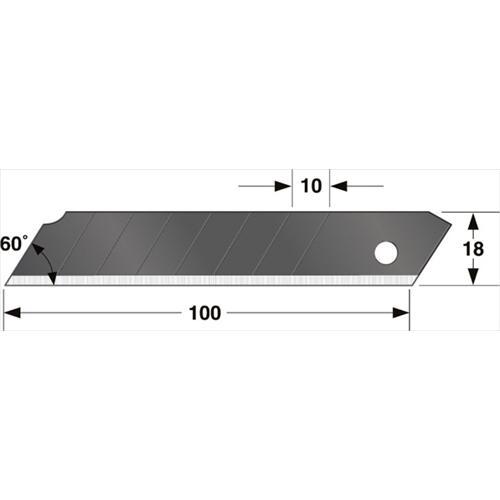 替刃大 凄刃 黒(10枚入) CBL−SK10