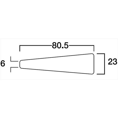 サンダーSA−20型 荒目 替刃 SAB−20A